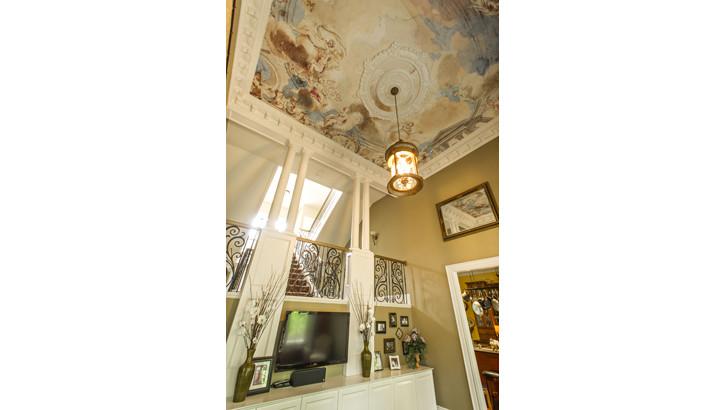 166 Highland Ceiling